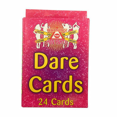 Hen Party Dare Cards Pink Accessory Girls Night Out Novelty