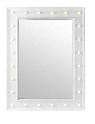 60 x 80cm Large LED Light Up Wall Mirror