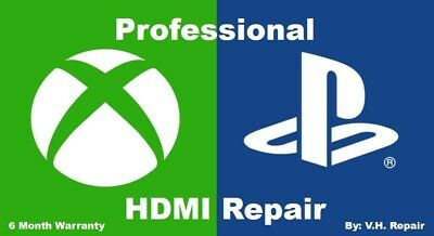 PRO HDMI REPAIR - PS4 - PS4 Slim - PS4 Pro - Xbox One - Xbox One S MOTHERBOARD