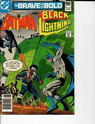 DC Comics the Brave and the Bold Batman and Black Lightning #163 June NM- 9.2