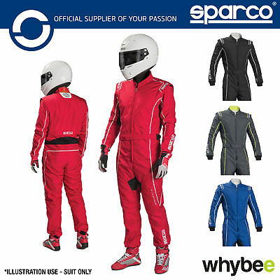 New! 002334 Sparco GROOVE KS-3 KS3 Kart Suit Karting CIK-FIA Sizes XS-XXL & Kids