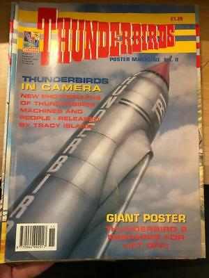 Thunderbirds Poster magazine Issue 8 Gerry Anderson