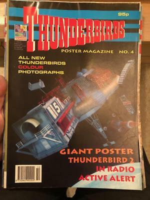 Thunderbirds Poster magazine Issue 4 Gerry Anderson