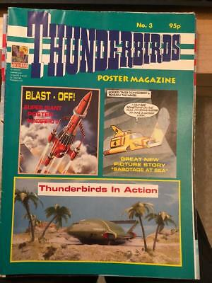 Thunderbirds Poster magazine Issue 3 Gerry Anderson