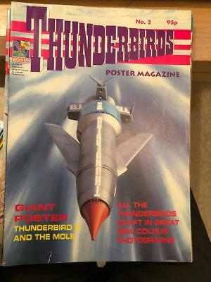 Thunderbirds Poster magazine Issue 2 Gerry Anderson