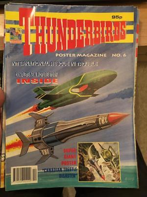 Thunderbirds Poster magazine Issue 6 Gerry Anderson