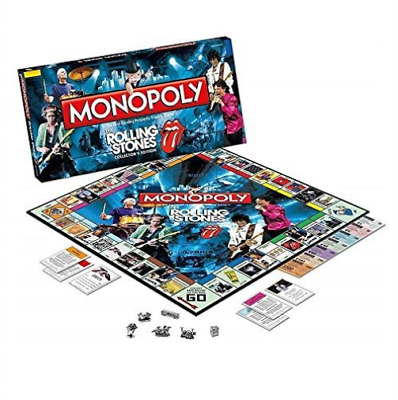 The Rolling Stones Monopoly GAME NUEVO
