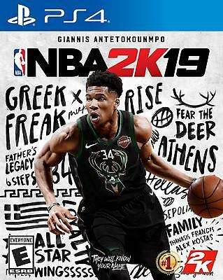 Nba 2K19 Ps4 - Brand New Factory Sealed