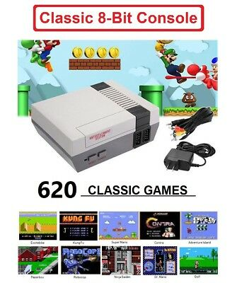 Mini Classic Game Console 620 Games For Nintendo NES Kids Gift US