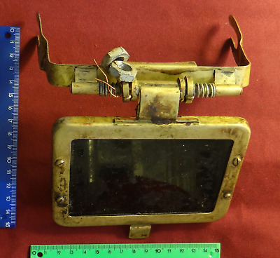 Soviet protective device for welding from 3-bolt helmet UVS-50 + spare glass.