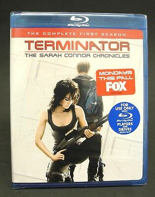 Terminator - The Sarah Connor Chronicles: Complete First Season (Blu-ray) - NEW
