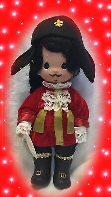 "Disney Peter Pan Captain Hook Doll - Precious Moments 12"" Vinyl Doll"
