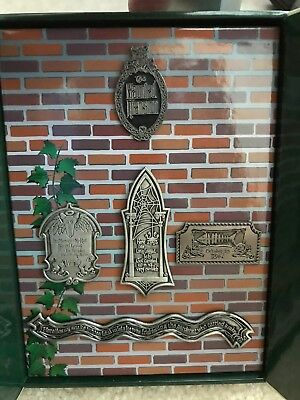 Disney DLR Haunted Mansion Pet Cemetery Boxed Set 5 Pins LE 5000