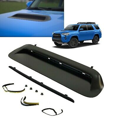 2019 4Runner TRD PRO Hood Scoop Bulge (PAINTED MATTE BLACK) (KIT) Genuine Toyota
