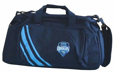 Nrl New South Wales/blues State Of Origin Sports Bag - Brand New