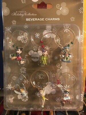NEW Disney BEVERAGE CHARMS Parks Authentic