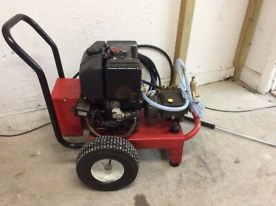 Diesel pressure washer lombardini electric start top quality jet washer
