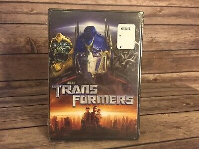 Transformers Movie Widescreen DVD - 2007 Release New Sealed DVD