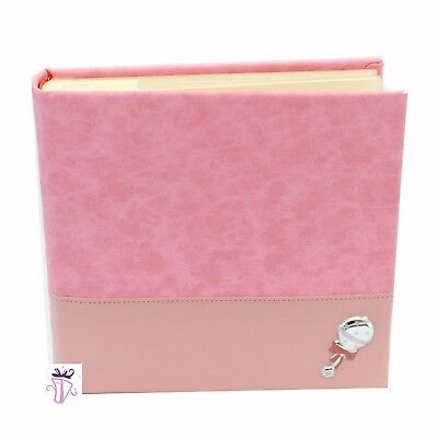 Baby Girl Pink photo safe 200 slip in photo album gift Baby Gift Baby Shower