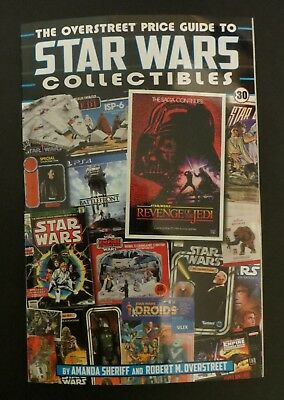 The Overstreet Price Guide to Star Wars Collectibles (2018) 1st print SC NM/VF
