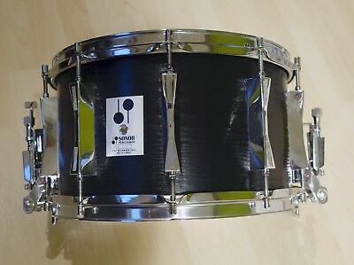 """Sonor Phonic D518X, 14x8"""" Snare, 9ply Beech wood, 1980er"""