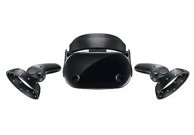 Samsung Odyssey HMD Windows Mixed Reality Headset with controllers and box