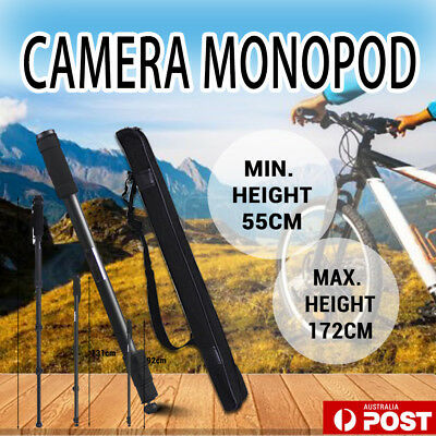Extendable Portable MONOPOD Tripod Stand Unipod Holder For Digital Camera DSLR
