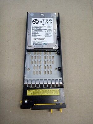 "HP 3PAR 300GB 15K 6G SAS 2.5"" HDD 702508-001 w/ 3PAR Caddy  HP"