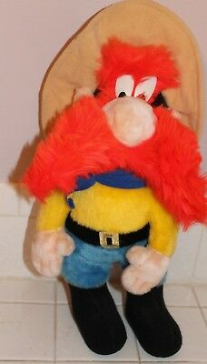 Vtg Warner Bros Yosemite Sam Plush Doll Stuffed Animal