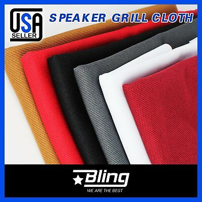Speaker Cloth Stereo Grill Mesh Fabric Audio Speaker Grill Fabric Cloth 6 Colors