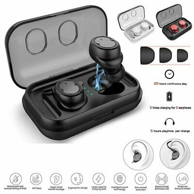 TWS Mini Wireless Bluetooth 5.0 Earbuds Twins Stereo Headset Earphone Headphones