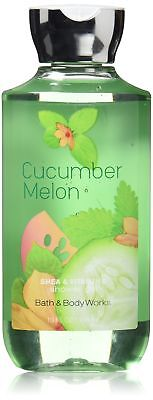 Bath & Body Works Shea & Vitamin E Shower Gel Cucumber Melon, 10 fl. Oz