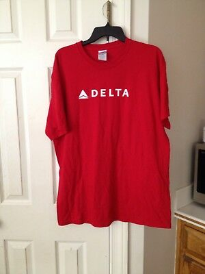 NEW Delta Airlines FORCE FOR GLOBAL GOOD T-Shirt Size XL