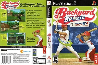 PS2   Backyard Sports Baseball 2007 (Sony Playstation 2)