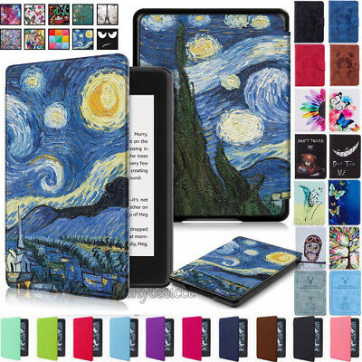 Ultra Slim Leather Magnetic Case Cover for Amazon Kindle Paperwhite 10th 2018