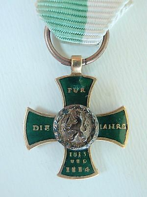 Germany Imperial Miniature Medal. Made In Gold. Vf+ 4