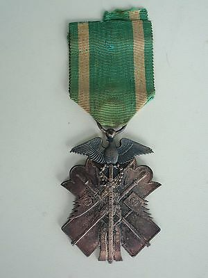 Japan Order Of The Golden Kite 7Th Class. Silver. Rare.  Vf