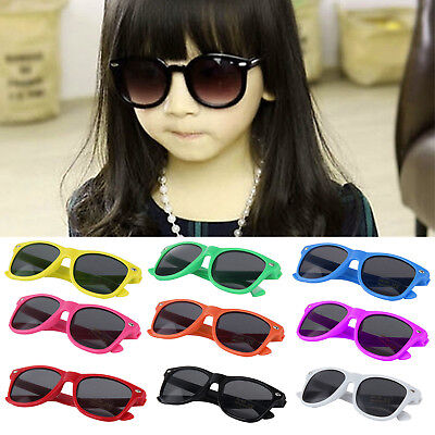KIDS Sunglasses Boys Girls Shades Black Childrens Classic Vintage Holiday