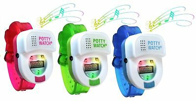 Potty Time Toddler Potty Watch Toilet Training Aid Blue Green Pink - Authorized