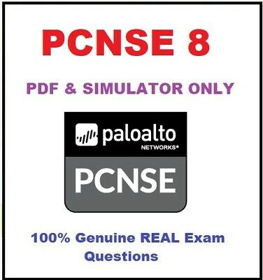 Palo Alto Networks Certified Security Engineer PAN-OS 8.0 PCNSE 8 Real exam dump