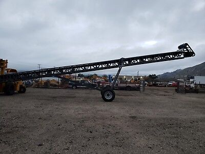 **CONVEYOR**- Radial Stacking Conveyor- 60 Ft- BRAND NEW
