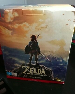Nintendo Switch The Legend of Zelda Breath of the Wild Collectors Edition Au