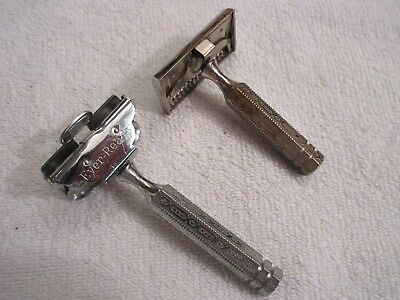 vintage Ever Ready safety razors lot of 2 lot T2