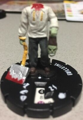 GUILLOTINE GOAT-HEADED SATANIST ZOMBIE...Lot Of 17 Nightmare Horrorclix Heroclix