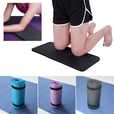 15mm Thick Yoga Mat Exercise Fitness Pilates Camping Gym Pad Non-Slip Trainer Z