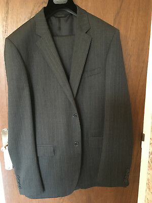 COSTUME CALVIN KLEIN Homme Raye Gris Taille 52 41 Neuf - EUR 230 f79a129443a
