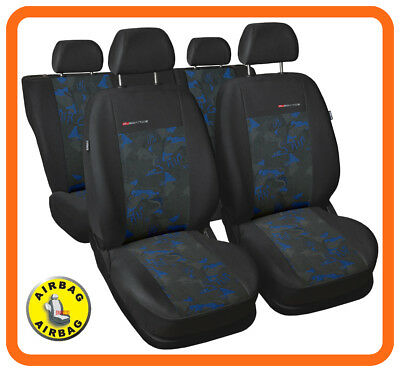 Car seat covers fit Vauxhall Mokka full set charcoal grey//red verlour