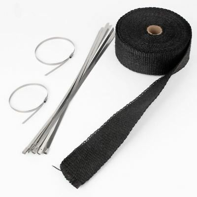 10M heat protection tape to 500 ° heat protection Heat Wrap manifold 10M Black