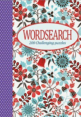 Wordsearch (Purple Star Spine): 200 Challenging Puzzles (Elegant **brand New**