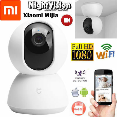 Xiaomi Mijia Smart IP Camera 1080P WiFi Wireless Pan Tilt Night Vision Webcam